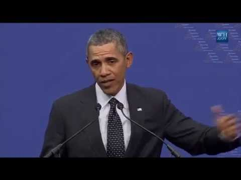 Obama Netherlands Press Conference- Full video