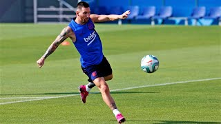 Lionel Messi - Amazing Tricks and Skills in Training - Is He Human?