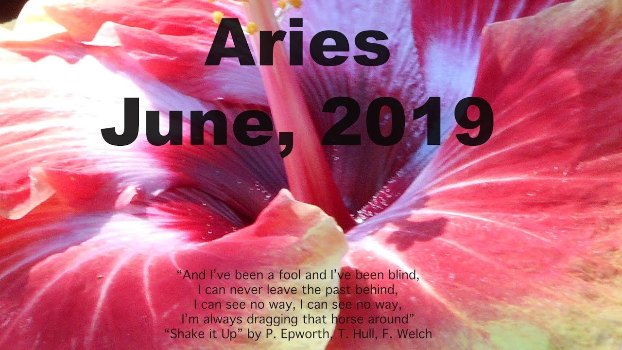 Aries JUNE 2019 GETTING WHAT YOU WANT! Tarot