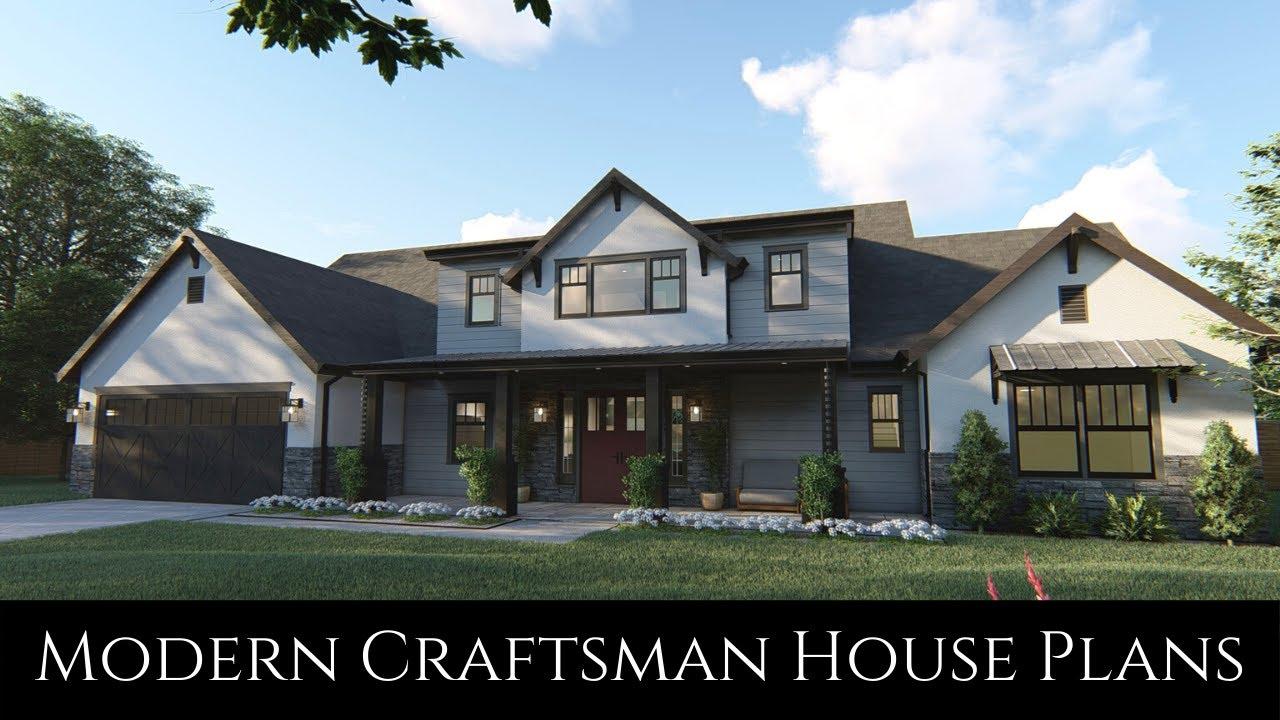 Modern Craftsman House Plans The