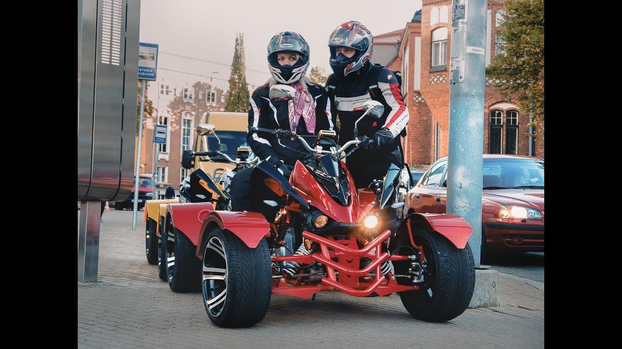 Quad ride - Jinling 300cc (Street quad/street atv)