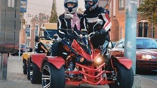 quad ride jinling 300cc street quad street atv