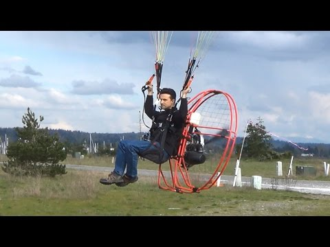Powered Paraglider Flights - PPG Flying in 1080p HD at 60fps off Semiahmoo Bay on the Pacific Ocean!