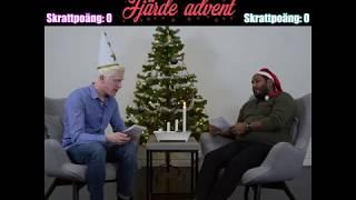 Den som skrattar förlorar - Fjärde advent - Torra skämt och ordvitsar med Niclas och Andreas