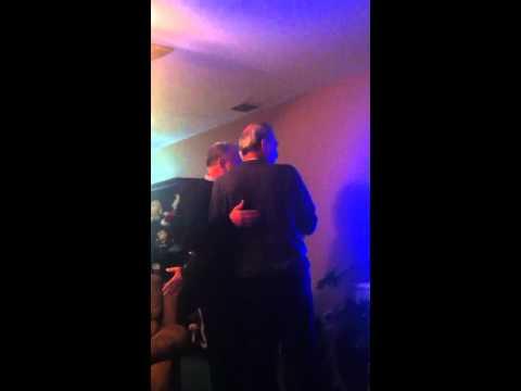 Drunken parents sing karaoke