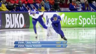 Denis Yuskov 1500m - 1:43.36 (Lowland World Record) Heerenveen 2015