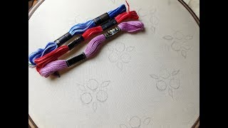 Beautiful  all over design   Hand embroidery all over design thumbnail