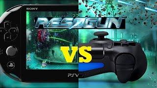 Resogun: PS4 vs Vita Comparison