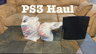 Ps3 Gamestop Games And Accessories Haul