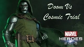 Doctor Doom Cosmic Trial Gameplay - Marvel Heroes Omega (PC)