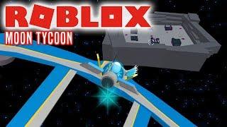 MIT RUMSKIB! - Roblox Moon Tycoon Dansk