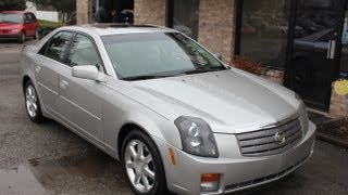 Used 2005 Cadillac CTS Sunroof Bose Stereo for sale Georgetown Auto Sales KY Kentucky SOLD
