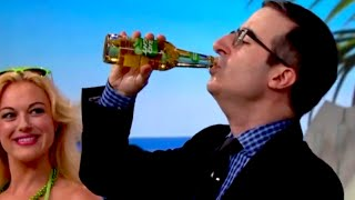 John Oliver Drinks a Bud Light for the FIFA Challenge | What's Trending Now
