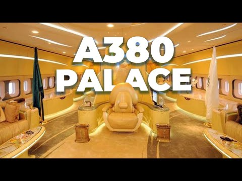 The Airbus A380 Palace: The Plane That Never Was
