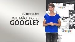 #kurzerklärt: Wie mächtig ist Google?