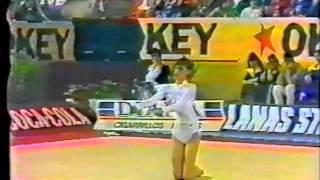 Maya TASKOVA (BUL) clubs - 1984 Valladolid international AA