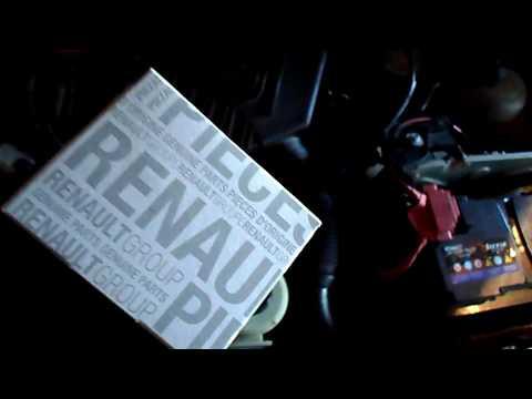 Оригинальный  ТЕРМОСТАТ на Рено Логан   Renault logan