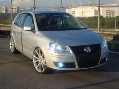 pintando vw polo tuning youtube. Black Bedroom Furniture Sets. Home Design Ideas