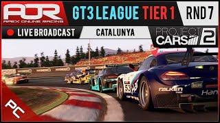 Project CARS 2 | AOR GT3 League | PC Tier 1 | S10 | R7: Catalunya