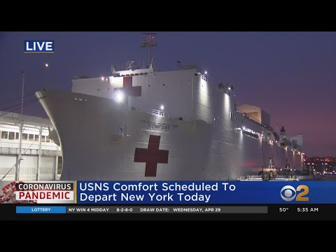 USNS Comfort Set To Depart