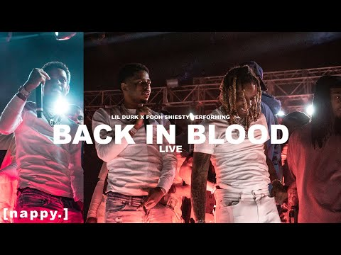 Lil Durk & Pooh Shiesty performing 'Back In Blood' Live at SMURKCHELLA