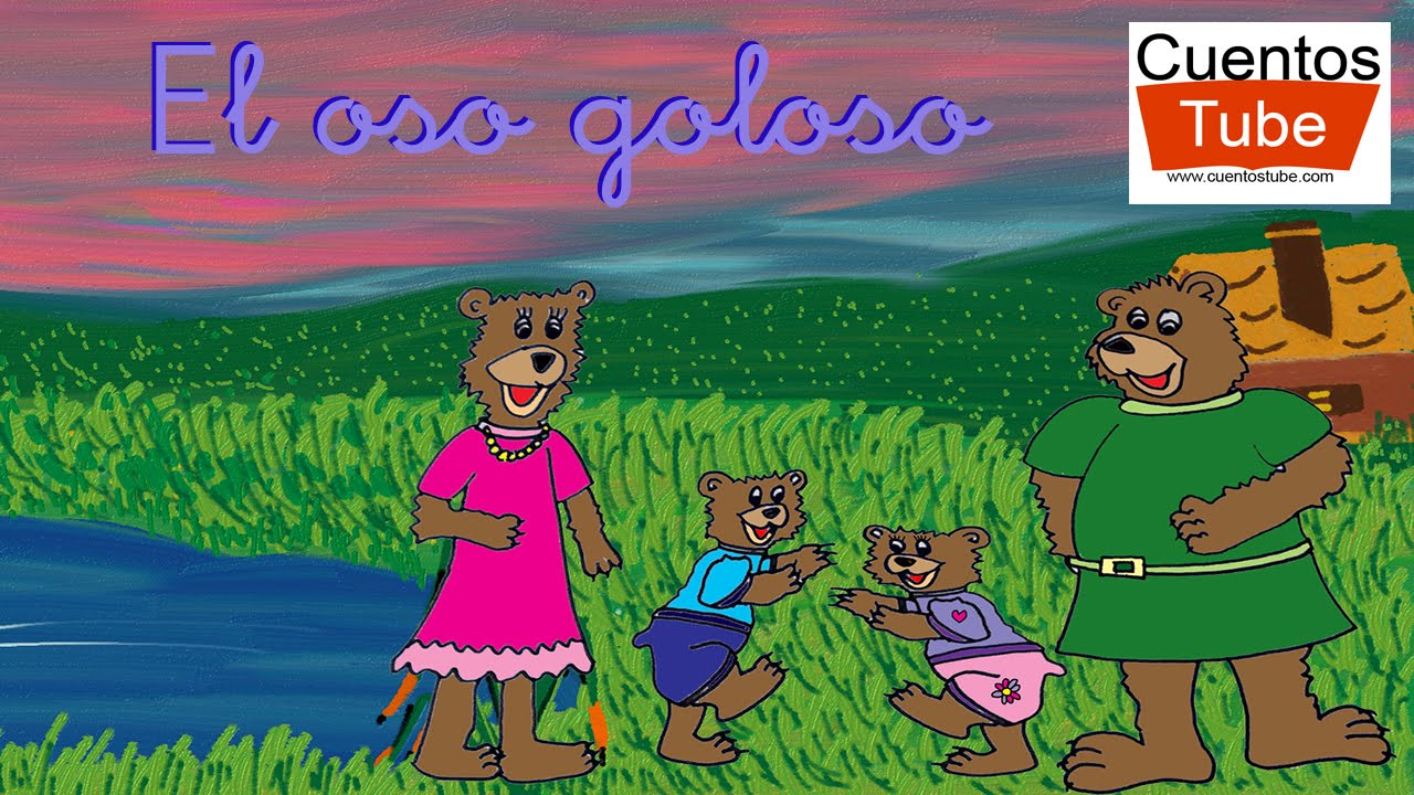Cuentos infantiles - El oso goloso - CUENTOSTUBE.COM - YouTube