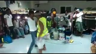 celebrating bakar-eid in doha qatar (funny dance)