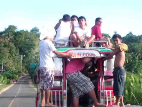Bohol Jeepney Overload