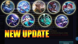 Video NEW UPDATE ALL MARKSMAN GOT BUFFED - JULY 16, 2018 MOBILE LEGENDS NEWS download MP3, 3GP, MP4, WEBM, AVI, FLV Juli 2018