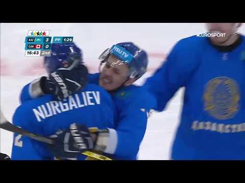 Казахстан Канада 4 3  ОБЗОР МАТЧА Хоккей УНИВЕРСИАДА Қазақстан Канада