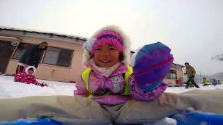 Traveling daycare for Fukushima children.