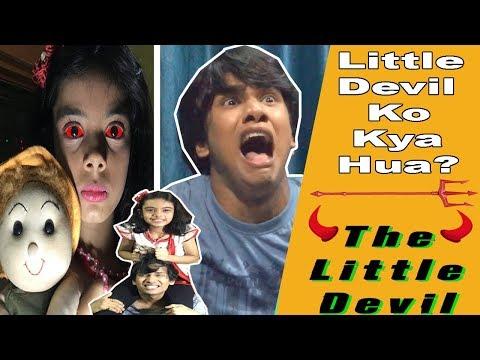 LITTLE DEVIL | Sshh KOI AAYA HAI | COMEDY VIDEO | ANNOYING COUSIN || MOHAK MEET || KHUSHI