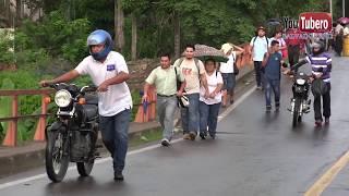 UltimaHora!!! Colapso puente en Chalatenango El salvador
