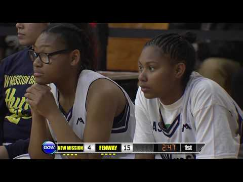 Game of the Week: 2018 Girls City Championship - New Mission Titans vs. Fenway Pnthers