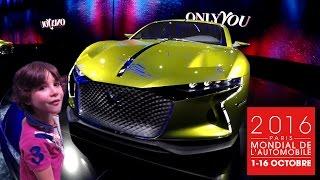 MONDIAL de l'AUTOMOBILE 2016 à Paris - à la découverte des Nouveautés & concept Car