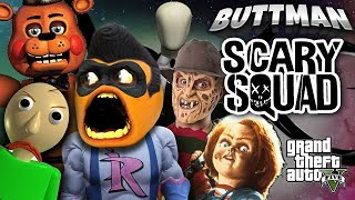 Adventures of Buttman #36: THE SCARY SQUAD!