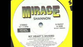 Shannon - My Hearts Divided [remix]