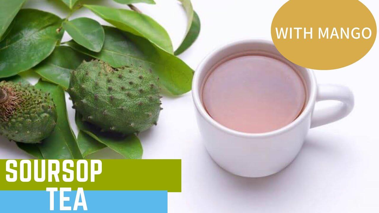 Electric Tea 🍵 Dr  Sebi Approved Mango Soursop Tea Delicious!!!