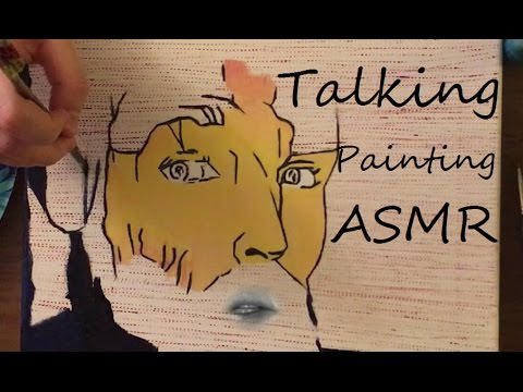 ASMR Talking Painting Gossip