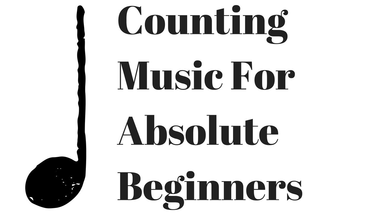 How to count music - Beginner Animated Rhythm Lesson - 4/4 Time
