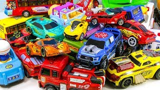 Learning Color Disney Pixar Cars Lightning McQueen big size Sounding toys play video for kids