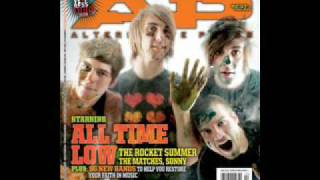 weightless w/lyrics by all time low