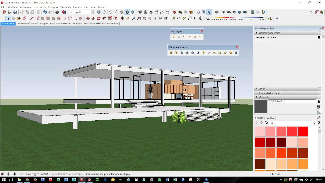 Dimostrazione v ray per sketchup youtube for Programmi rendering gratis