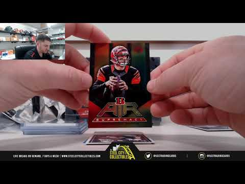 2017 VERTEX FOOTBALL HOBBY 4-BOX CASE RANDOM TEAM GROUP BREAK - BRIAN URLACHER AUTOGRAPHED JERSEY