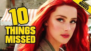 AQUAMAN Trailer 1 Breakdown - Easter Eggs & Ten Things Missed
