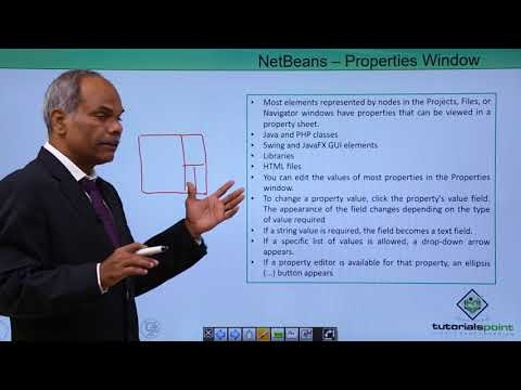 NetBeans - Properties Window