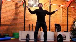 Клоков Дмитрий о старте в рывке.