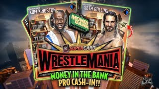 HUGE WRESTLEMANIA 35 MONEY IN THE BANK PRO CASH IN!! 💰 | WWE SuperCard S5