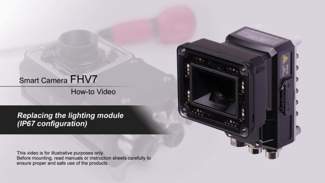 FHV7 How-to Video : Replacing the lighting module