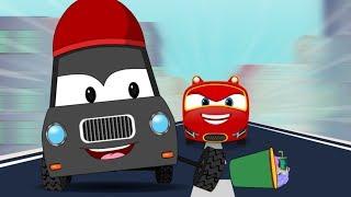 SuperCar Baby Rikki Chase Thief Car   Kids Cartoon Rhymes & Songs